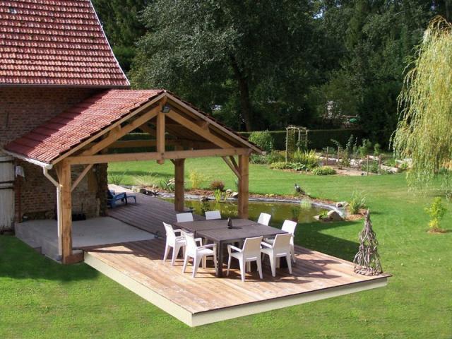 terrasses bois cumaru robinier picardie passion terrasse. Black Bedroom Furniture Sets. Home Design Ideas